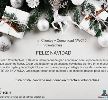 ChristmasBlockchain.org, nuestra aportación al mundo portada en medios